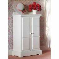 Small White Wardrobe