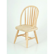 Plain Wood Spindle Back Chair