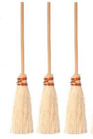 Three Brooms
