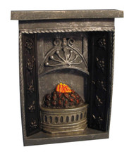 Small Grey Fireplace