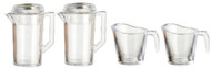 Two Pitchers & Two Clear jugs