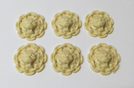Decorative Lion Heads 6 Pack