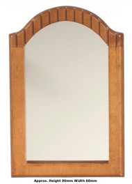 Mirror In Wooden Frame