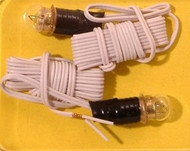 Two Round Bulbs & Wired Socket