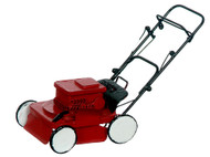 Red & Black Power Lawnmower