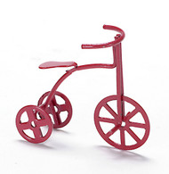 Red Metal Tricycle