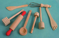 Wooden Kitchen Utensil's
