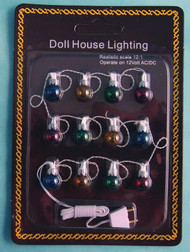 12 Christmas Exterior Ball Lights Set