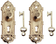 Opryland Door Handles In Gold