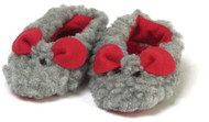 "Pair Of Mouse Slippers Fits 18"" Doll"