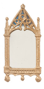 Cathedral Mirror Frame Finished in Gold