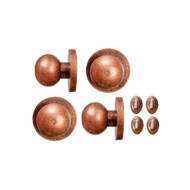 Bronze Door Knobs & Keyholes 4 Pack