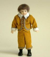 Heidi Ott Doll, Young Boy Wearing Tan Outfit