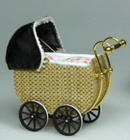 Heidi Ott Wicker Effect Small Pram