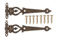 Antique Style Large Hinges ( Style 4 )