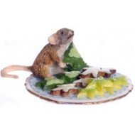 Mouse On A Plate Full Of Cookies