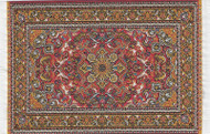 Medium Turkish Carpet Rug Red