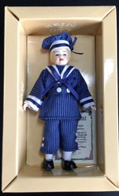 Heidi Ott Doll, Young Boy Wearing Blue Outfit