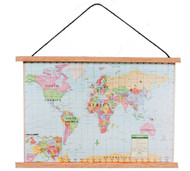 World Map Banner