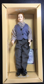 Heidi Ott Doll, Man In Checked Shirt And Waistcoat
