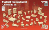24th Scale Furniture Set 34 Piece