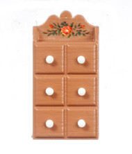 Decorated Spice Wall Chest