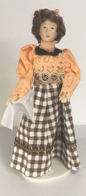 Dame Caroline Doll With Stand Included