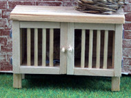 Bare Wood Rabbit Hutch
