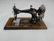 Heidi Ott Walnut Table Top Sewing Machine
