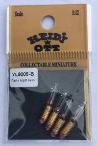 Heidi Ott Flame Bright Bulbs 3mm Screw