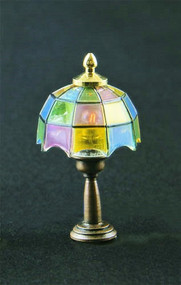 Coloured Tiffany Table Lamp