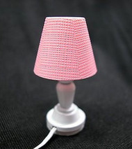 Bedroom Table Lamp in Pink