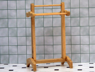 Bare wood Towel Rack