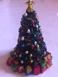 Large Resin Christmas Tree