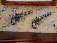 Pair Of Antique Duelling Pistols