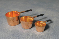 Brass Pan set