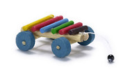 Pull Along Toy Xylophone