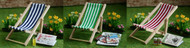 Folding Deck Chair Choice Of Colours