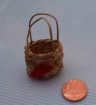 Raffia Shopping Basket