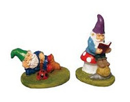 Pair of Lazy Gnomes