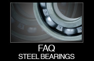 FAQ Steel Bearings