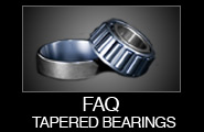 FAQ Tapered Bearings