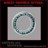 6900 Steel Ball Bearing