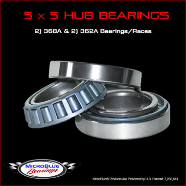 5 x 5 Wheel Bearing Set