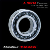 "6204 .750"" Bore Ceramic Ball Bearing"