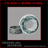 "KH 205 1"" BORE STEEL BALL BEARING W/ COLLAR"