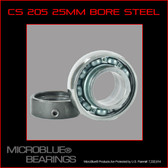 KH 205 25mm BORE STEEL BALL BEARING W/ COLLAR