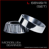 L 68149/L 68111 TAPERED BEARING SET