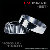 LM 11949/LM 11910 TAPERED BEARING SET