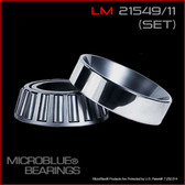 L 21549/LM 21511 TAPERED BEARING SET
